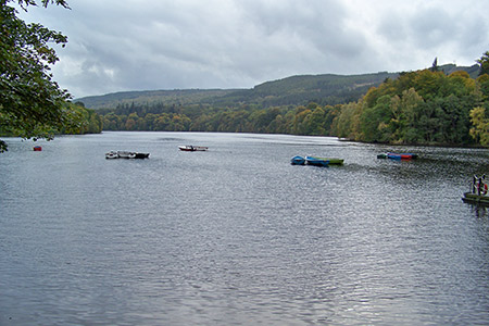 Loch Faskally & Faskally Woods
