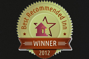 Best Recommended Inn.com Award 2012