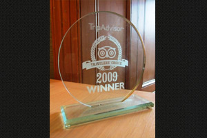 Tripadvisor Travellers Choice Award 2009