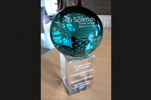 Visit Scotland Thistle Awards Regional Winner
