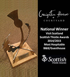 NATIONAL WINNER – VISIT SCOTLAND – SCOTTISH THISTLE AWARDS