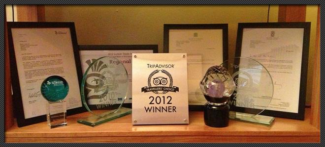 CRAIGATIN HOUSE – AWARDS & ACCOLADES 2012