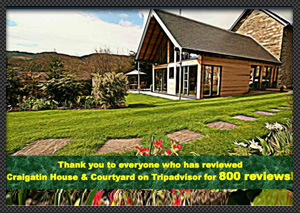 WE RECENTLY RECEIVED OUR 800TH TRIPADVISOR REVIEW!