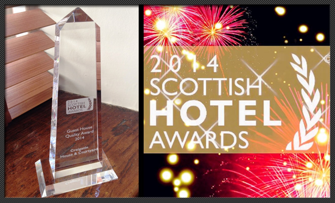 raigatin House Wins at Scottish Hotel Awards