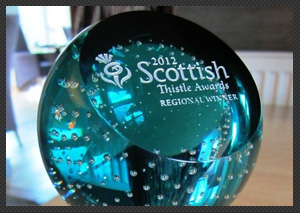 SCOTTISH THISTLE AWARD!