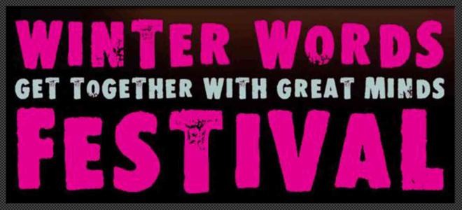 PITLOCHRY THEATRE FESTIVAL THEATRE WINTER WORDS FESTIVAL